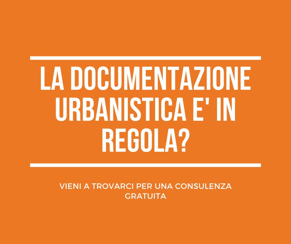 La documentazione urbanistica